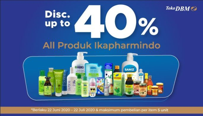 Diskon Produk Ikapharmindo up to 40