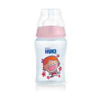 PP WIDE NECK BOTTLE 140 ML PINK